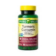 Turmeric Curcumin, 500mg, Spring Valley, 90 Cps
