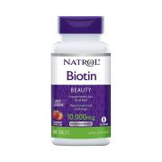 Biotina, 10000mcg, Natrol, 60 Tbs