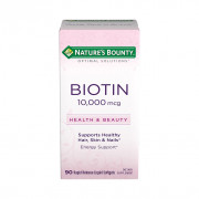 Biotina, 10000mcg, Nature's Bounty, 90 Softgels