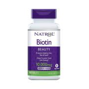 Biotina, 10,000mcg, Natrol, 100 Tbs