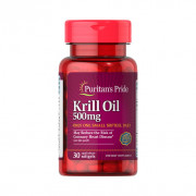 Krill Oil, 500mg, Puritan's Pride, 30 Softgels