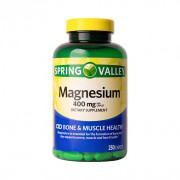 Magnésio, 400mg, Spring Valley, 250 Tbs