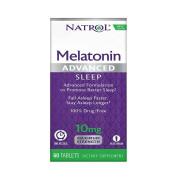 Melatonina, 10mg, Liberação Prolongada, Natrol, 60 Tbs
