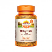Melatonina, 10mg, Sundown Naturals, 90 Cps
