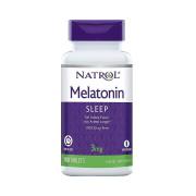 Melatonina, 3mg, Liberação Prolongada, Natrol, 100 Tbs