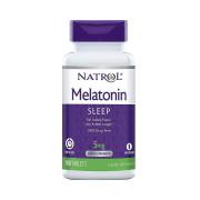 Melatonina, 5mg, Liberação Prolongada, Natrol, 100 Cps