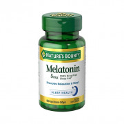 Melatonina, 5mg, Liberação Rápida, Nature's Bounty, 90 Softgels