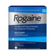 Rogaine, Para Homens, Minoxidil 5%, Força Extra, 3 Meses