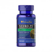 NEURO-PS, Fosfatidilserina, 100mg, Puritan's Pride, 30 Softgels