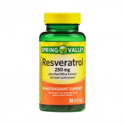 Resveratrol, 250mg, Spring Valley, 30 Softgels