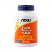 Super Ômega 3-6-9, 1200mg, Now Foods, 90 Softgels