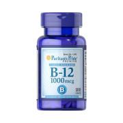 Vitamina B-12, 1000mcg, Puritan's Pride, 100 Cps