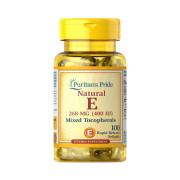 Vitamina E, 400iu (268mg), Tocoferol Misto, Puritan's Pride, 100 Softgels