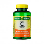 Vitamina C 1000mg, Rosa Mosqueta, Spring Valley, 100 Tbs