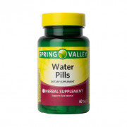 Water Pills, Potássio, Spring Valley, 60 Tbs