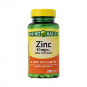 Zinco, 50mg, Spring Valley, 200 Tbs