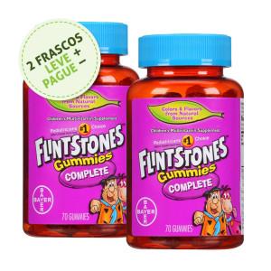 Polivitamínico (Multivitamínico) para Crianças, Flintstones, Bayer, 60 Gummies (2 Un.)