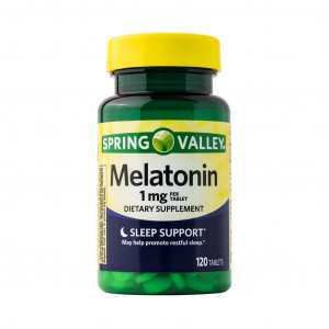 Melatonina, 1mg, Spring Valley, 100 Cps