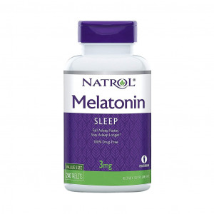 Melatonina, 3mg, Natrol, 240 Tablets