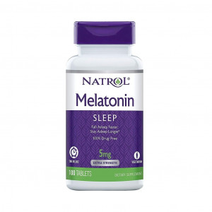 Melatonian, 5mg, Efeito Prolongado, Natrol