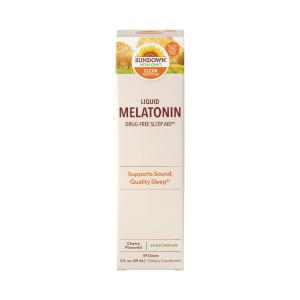 Melatonina, 1mg, Líquida, Sublingual, Sundown, 59 ml