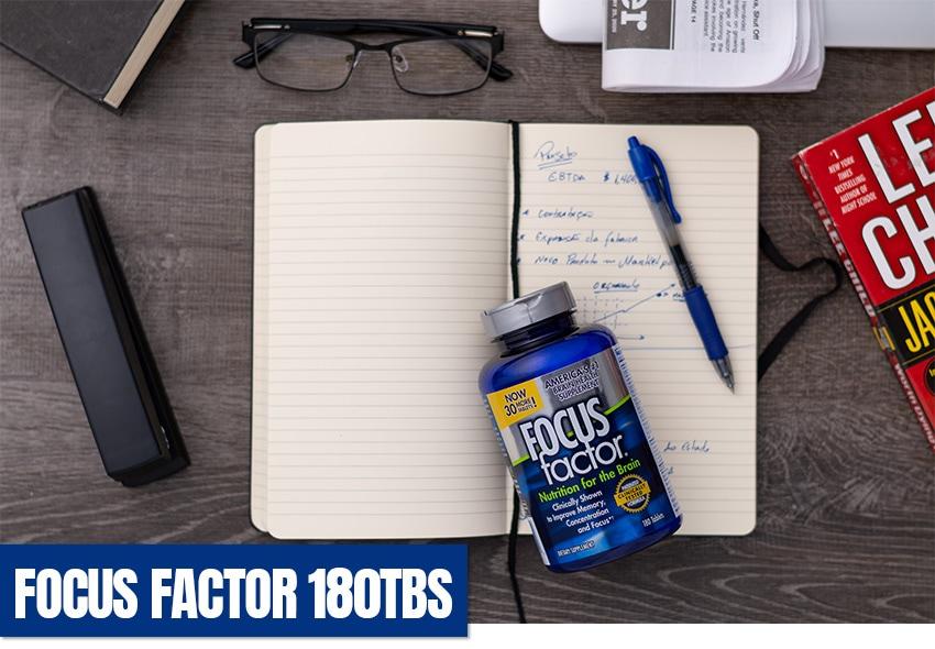 Focus Factor Número 1 em vendas nos EUA