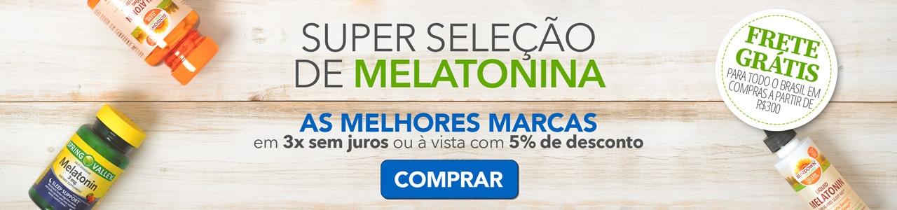 Melatonina 1mg, 3mg, 5mg e 10mg - As Melhores Marcas com 10% de Desconto