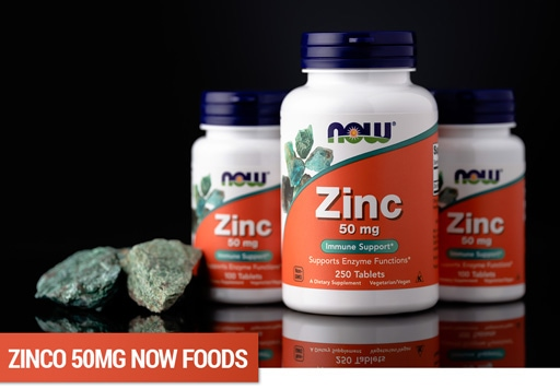 Zinco 50mg Now Foods